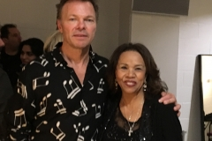 Candi Staton and Pete Tong